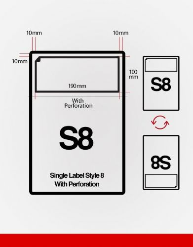 S8 Integrated Labels
